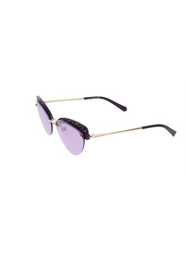 Swarovski Güneş Gözlüğü Mor